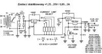Schemat zasilacza 230AC - 12 DC - ocena poprawności