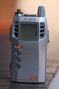 Alinco DJ-X3 - kupiłem używke - kilka pytań/porad/tricków