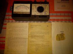 Obsługa miernika radzieckiego 43101