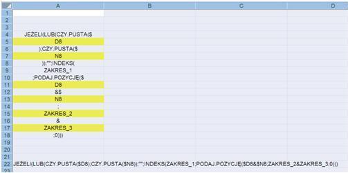 Excel 2007-VBA - generowanie z�o�onych formu� tablicowych z teks