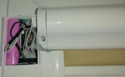 Automatyczne wewnętrzne rolety okienne MQTT