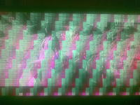Zak��cenia obrazu DVB-T podczas dobrej pogody.