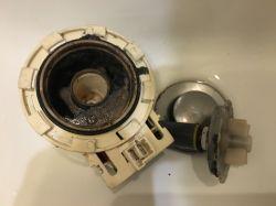 Pralka Samsung WF90F5E3W2W (Eco Bubble) - po błędzie 5E nie odpompowuje wody