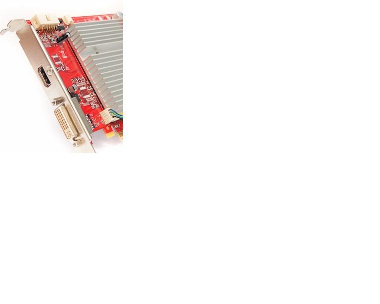 GeForce 9500 - Dodatkowe z��cze na karcie