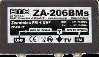 Antena logarytmiczna - Jak podłączyć zwrotnicę