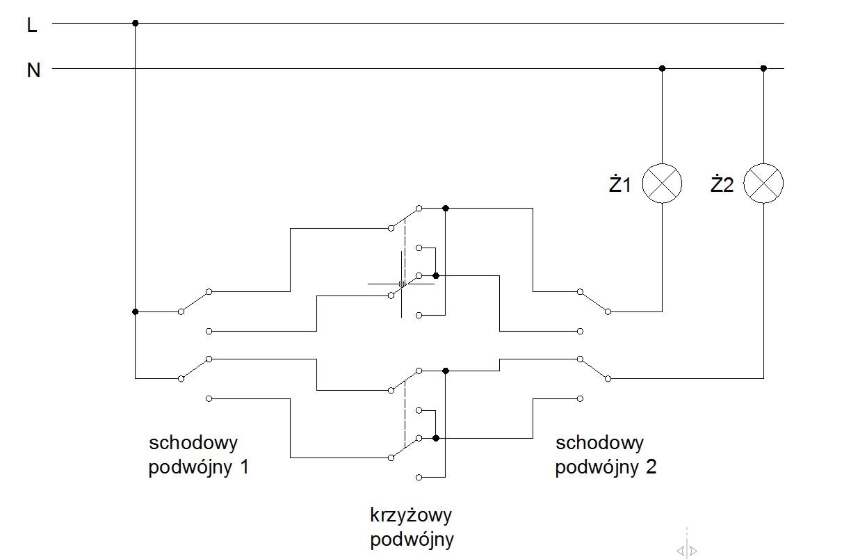 instalacja elektryczna - schemat