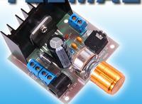 Głośniki przenośne na module TDA7297