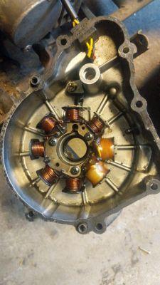 Kawasaki klf 185 / 220 - Uszkodzony moduł