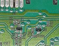 Electrolux EWT13420W - Prośba o identyfikację elementów R156 oraz Q8
