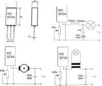 KDSF04 - układ z transformatorem toroidalnym pali bezpiecznik