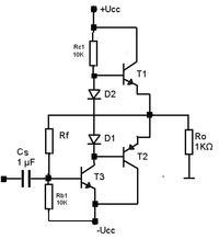 Para komplementarna tranzystorów