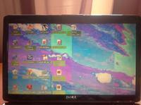 Dell 1545 - laptop spad�, dziwne kolory matrycy