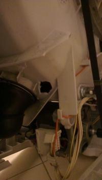 Electrolux/EWTS 13620 W - Dziura w plastikowej obudowie bębna