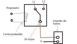 Podpięcie bojlera elektrycznego pod dwa źródła zasilania