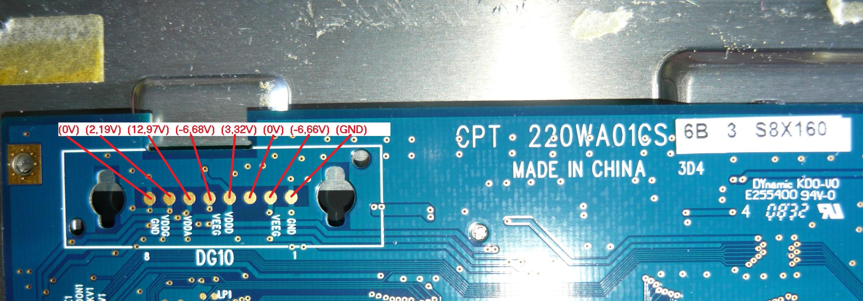 SAMSUNG 2243LNX - B�ysk, paski i od�wie�anie obrazu.