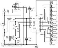 Wskaźnik gazu elektroniczny