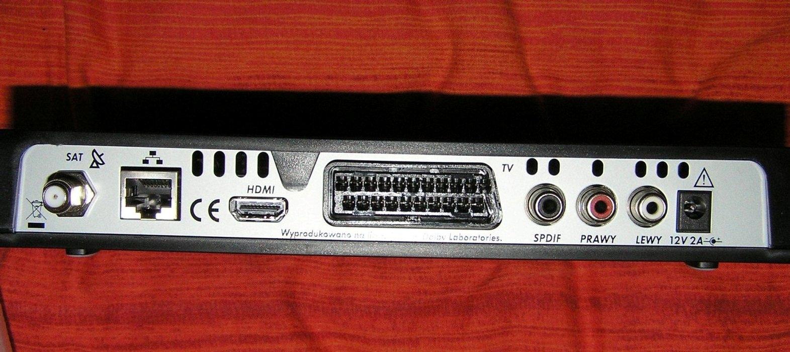 Pod��czenie dekodera Cyfry+ Sagemcom HDTV do karty TV hybrid LV3H