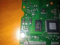 Seagate ST2000DM001 - Upalony rezystor 0 i chyba transil