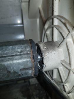 Montaż silnika w rolecie zewnętrznej