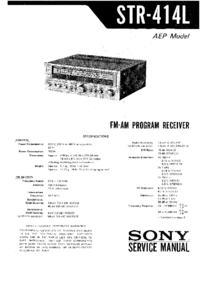 Głośniki pod Sony STR-414L