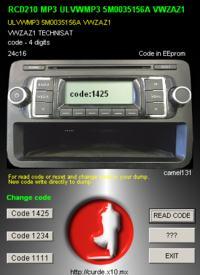 [RCD210 Technisat] safe proszę o podanie kodu z pliku