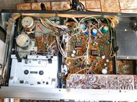 Magnetofon kasetowy Diora MDS 432 - raz gra muzyka raz nie.