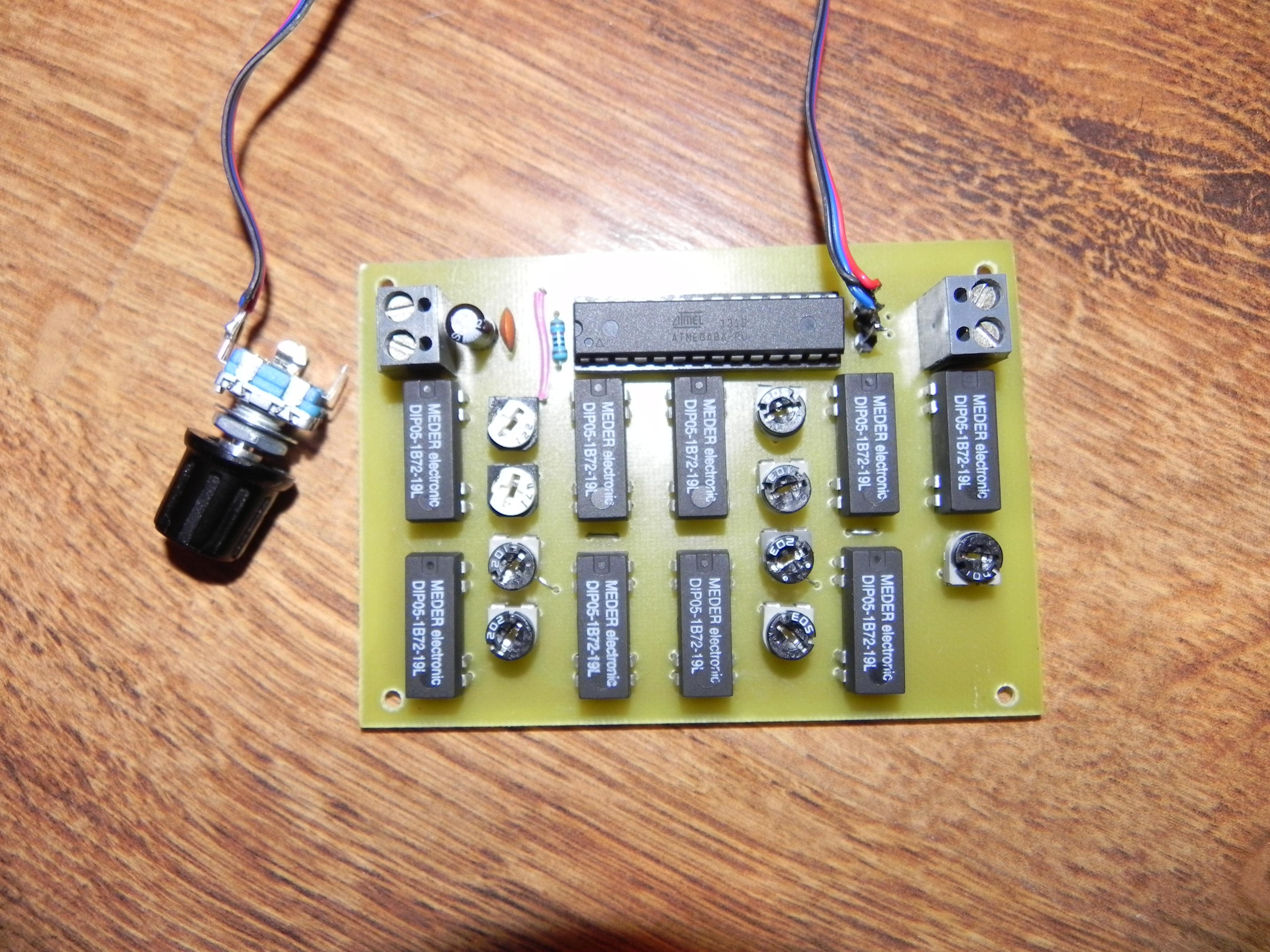 Potencjometr cyfrowy DIY
