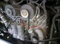 SETRA S315HD - V8 - Ciągła praca wentylatora chłodnicy