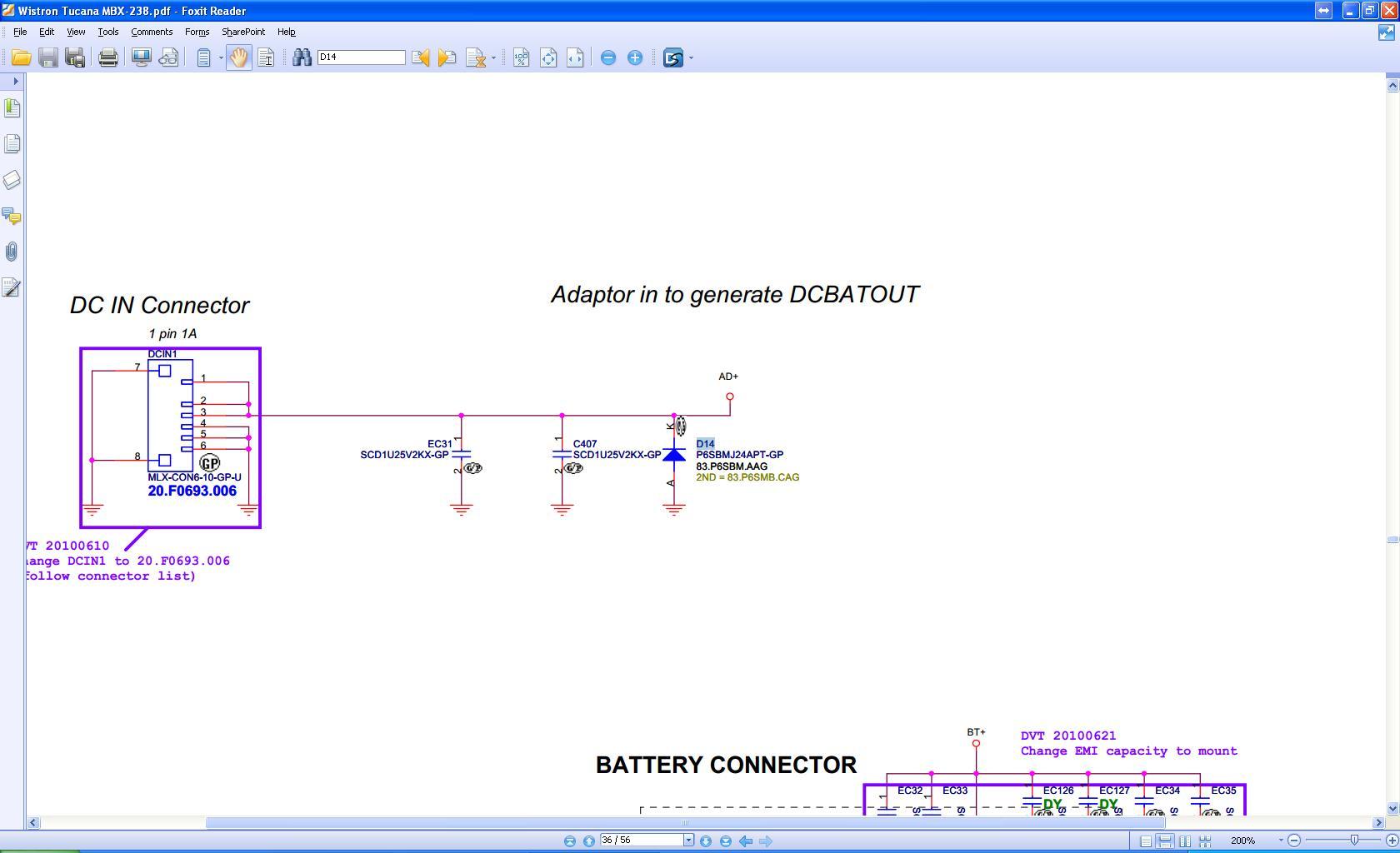 Sony Vaio PCG-31311m - Identyfikacja podzespo�u