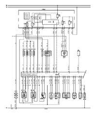 Citroen - C2 1.1benz pinout ecu silnika.