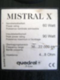 kolumny mistral x po upadku nie graja glosniki wysokotonowe
