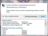 laptop lenovo system vista - vista po otwarciu klapy nie reaguje,czrny ekran