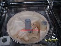 Zmywarka Zanussi ID4204W nie wylewa wody