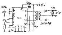 Mostek h (silnika dc 80A) Pwm
