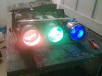 Rozwinięcie pomysłu na projektor na monitorze CRT