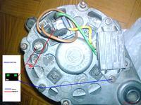 Świecąca się lampka kontrolna akumulatora Polonez