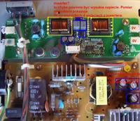NEC 1701 - brak podświetlenia