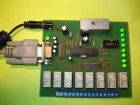 Sterownik RS-232 ... 8 kanałów załącz / wyłącz