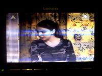 LCD Lenco TFT-710 - falujący obraz, pionowe paski