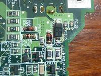 HP Pavilion zt3000 - identyfikacja uszk. elementu na pł. gł.