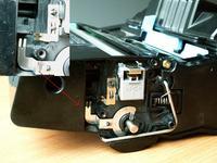 Kyocera FS-1020D Po czyszczeniu śmietnika drukuje placki