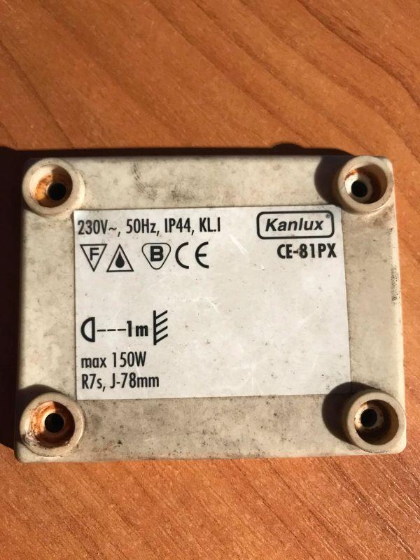 Kanlux CE-81PX - Podłączenie halogenu z czujnikiem ruchu