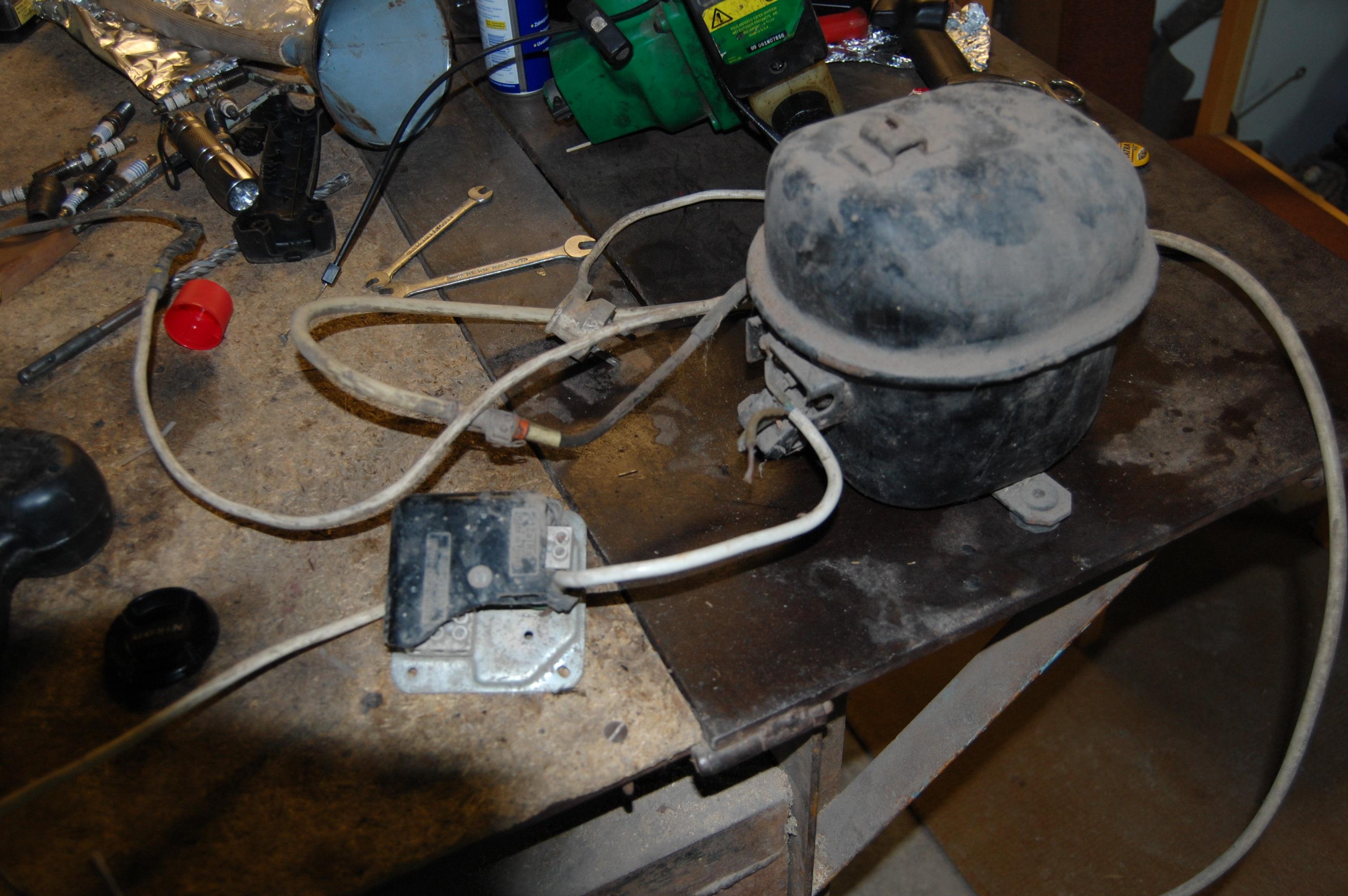 Kompresor lod�wkowy (elektryka)