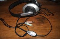 Uszkodzony układ potencjometru w słuchawkach Creative Hs 600