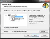 Menu z Windows XP na Windows 7
