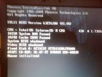 Lenovo 0768- po restarcie załącza się tylko strona startowa.