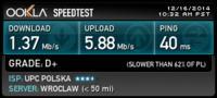 Wolne działanie internetu przez wifi