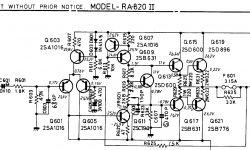 Kopie des Verstärkers Rotel RA-820