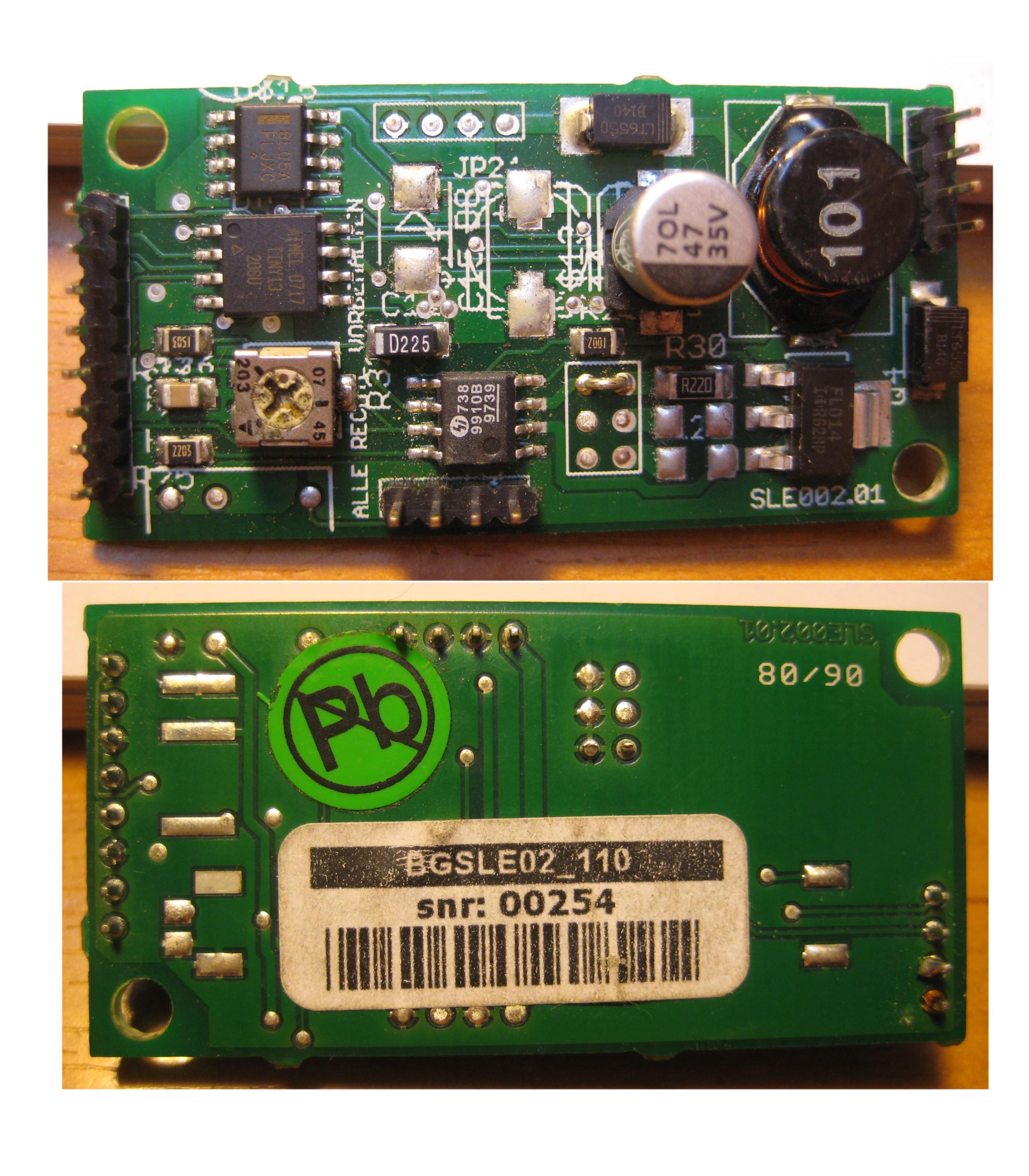 Przetwornica mikroprocesorowa - usterka