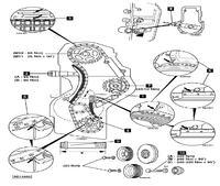 schemat ustawienia rozrządu mercedes 410 silnik2900